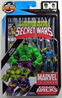 マーベル ユニバース 3.75インチ アクションフィギュア コミックパック #04/ハルク & サイクロップス [並行輸入品]