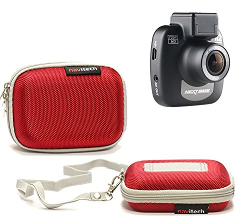 Navitech Red Water Resistant Dash Cam Case Cover Compatible with The EKEN H9s 4K Action Camera