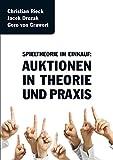 Spieltheorie im Einkauf: Auktionen in Theorie und Praxis