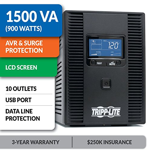 Build My PC, PC Builder, Tripp Lite SMART1500LCDT