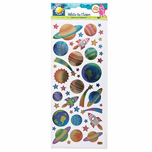 Docrafts Metallic Stickers - Outer Space. Cpt 8181117