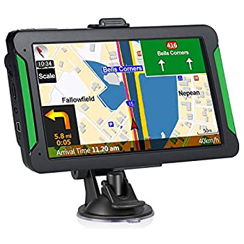 Car GPS Navigation 7-inch Touch Screen Vehicle GPS Free Lifetime maps of The United States Canada and Mexico Lane Assist GPS Navigation System Voice Broadcast Navigation