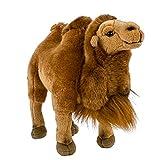 Teddys Rothenburg Camel - Peluche de pie (30 cm), color marrón