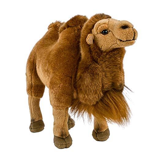 Teddys Rothenburg Kamel Kuscheltier stehend 30 cm braun Plüschtier