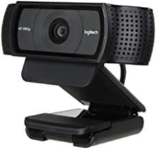 Logitech C920 USB 2.0 Certified (USB 3.0 Ready) HD Pro Webcam
