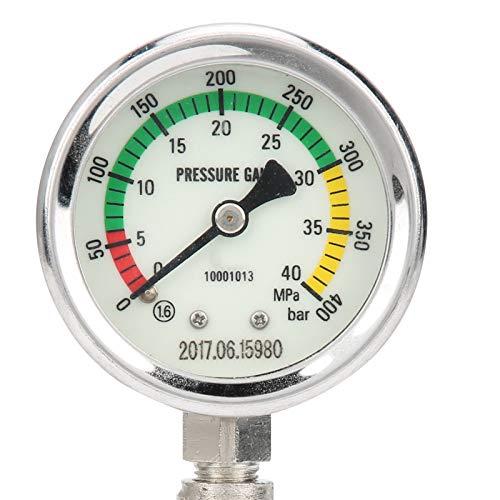 Zwinner Manómetro, medidor de Alta presión, Rendimiento Estable y Alta confiabilidad para buceadores para bucear