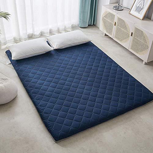 ZLJ Colchón Tatami japonés futón tapete Grueso para el Piso colchón para Dormitorio colchón Individual Doble colchón colchoneta Enrollable fácil Almacenamiento Altura 150x200cm (59x79 PU