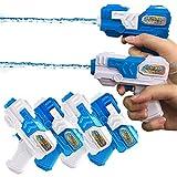 YongnKids Water Squirt Gun Pistol 6 Pack for Kids Adults Swimming Pool & Beach & Outdoor Summer Party (Mini Water Gun)