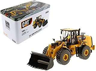 StarSun Depot CAT Caterpillar 966M Wheel Loader with Operator High Line Series 1/50 Model by Masters
