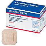 Coverplast Barrier Washproof Plasters - 3.8cm x 3.8cm (x100) by BSN Medical