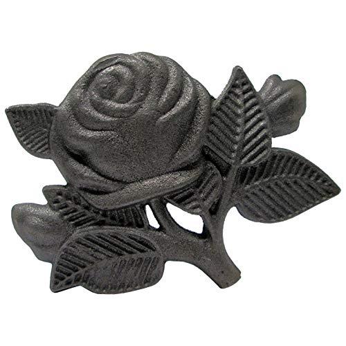 Vintage Zaun- Gartendeko Rose Gußeisen Blume Garten Shabby Chic Look von SO-TOOLs®