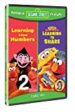 Sesame Street Double Feature: Learning About Numbers / Learning to Share [DVD]