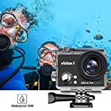 Zoom IMG-2 dragon touch action camera 1080p