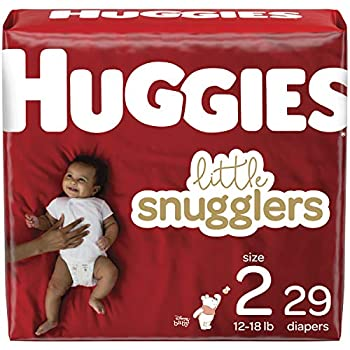 Baby Diapers Size 2 29 Ct Huggies Little Snugglers