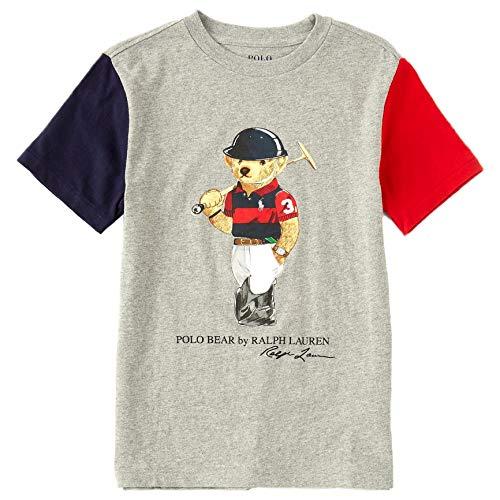 Polo Ralph Lauren - Camiseta Gris Oso 323836726001 - Camiseta Gris Oso...