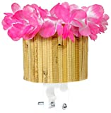 Cruiser Candy Tiki Cute Cup Bicycle Drink Holder in Pink