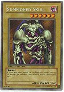 Yu-Gi-Oh! - Summoned Skull (BPT-002) - 20022003 Collectors Tins - Limited Edition - Secret Rare