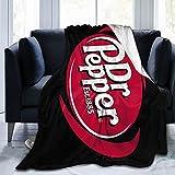 Dr Pepper Microfiber Blanket, Luxury Bedding Blanket for Four Seasons, Super Soft and Comfortable Luxury Sofa Blanket60 X50