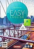 Easy English: A2: Band 1 - Kursbuch: Mit Audio-CDs, Phrasebook, Aussprachetrainer und Video-DVD - Christine House