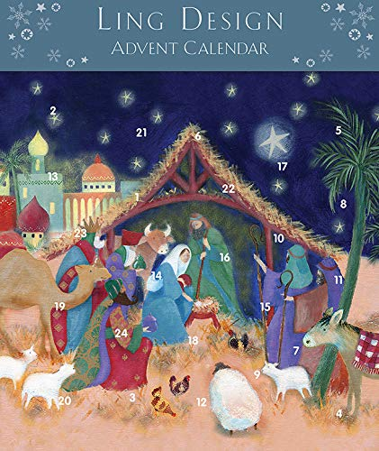 Ling Designs Calendario de Adviento Belén Nativity