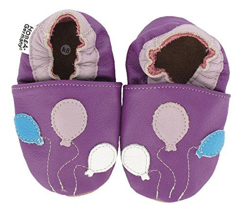 HOBEA-Germany Chaussures bébé Fille, modèle Chaussures:Ballons, Chaussures de Taille:22/23 (18-24 Monate)