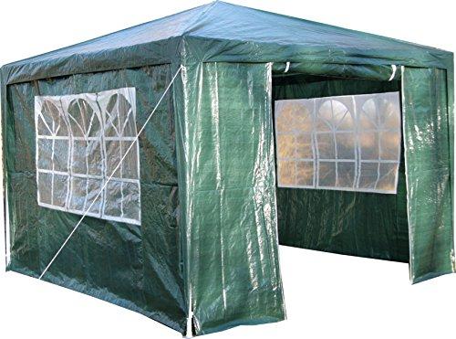 3,5/m Gazebo Pop-Up Esagonale da Giardino Colore: Verde AirWave