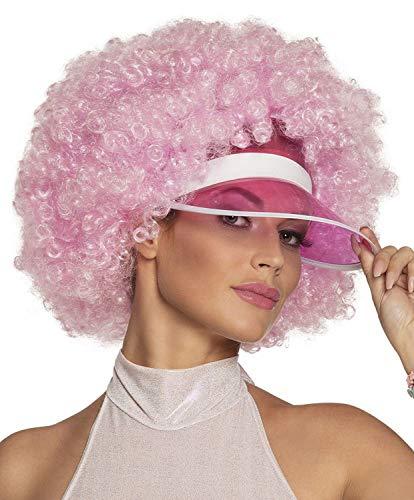 Boland 85930 pruik Afro, roze, één maat