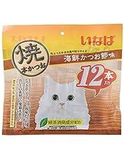 いなば 猫用おやつ 焼本かつお 海鮮かつお節味 12本入