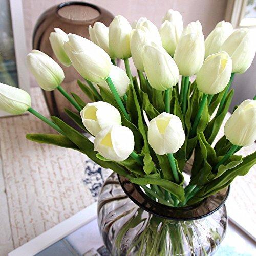 White Floral Arrangement Centerpieces Amazon