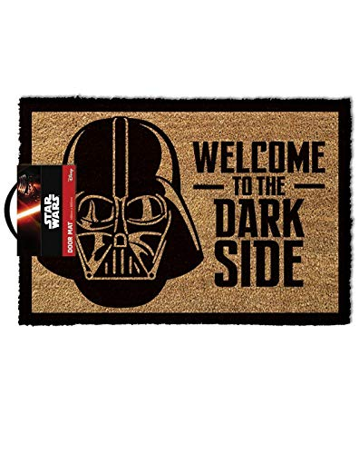 Star Wars Dormat Bienvenido al Darkside Home Mat Regalo Un tamaño