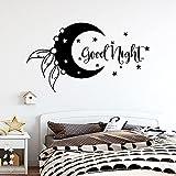 Neue Design Phrasen gute Nacht Wandaufkleber für