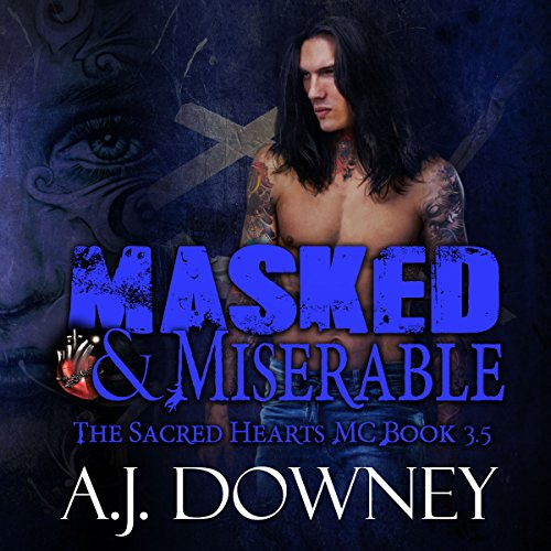 Masked and Miserable audiobook cover art