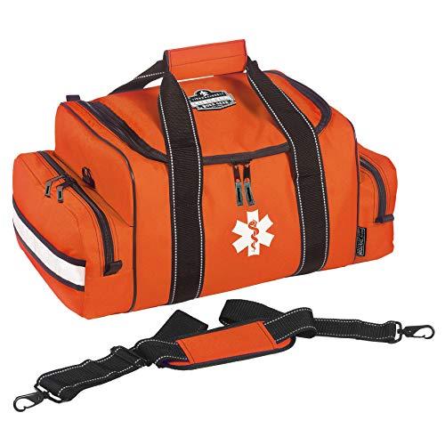 Ergodyne Arsenal 5215 Large Medic First Responder Trauma Duffel Bag with Shoulder Strap, Orange