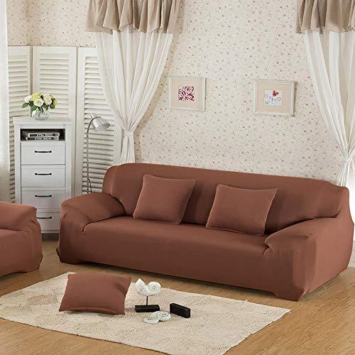 B/H Lavable/Antiácaros Funda de sofá,Funda de sofá Simple Antideslizante, Elegante Funda de sofá con Todo Incluido-R_90-140cm,Sillón Elastano Fundas de Sofá