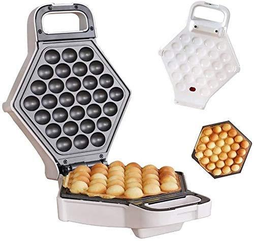 WZLJW Waffel-Hersteller professionelle elektrische gedrehtem Edelstahl Nonstick Küche Grill/Ofen for das Kochen Puff, Hong Kong Style, Ei, Muffin, Eggettes 640W liuchang20 ggsm