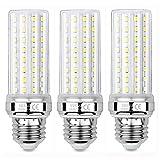 Sauglae Bombillas LED de Maíz de 20W, Bombillas Incandescentes Equivalente de 150W, Blanco Neutro de 4000K, 2000 lm, Bombillas de Tornillo Edison E27, 3 Piezas