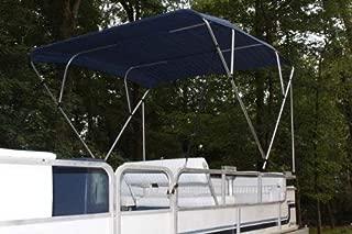 Vortex NAVY BLUE Pontoon/Deck Boat 4 Bow Bimini Top 8' Long, 91-96