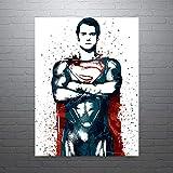 Diuangfoong Batman vs Poster ENVÍO GRATIS