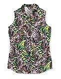 Guess Damen Sl Clouis Shirt Bluse, Multicolore, L