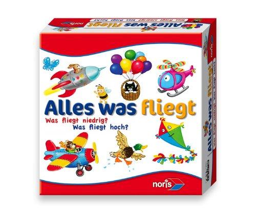Noris 606010094 - Alles was fliegt, Kinderspiel