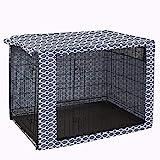 Hundekäfig-Abdeckung aus strapazierfähigem Polyester, universell passend für Hundegitterboxen mit 91,4 cm – nur Abdeckung