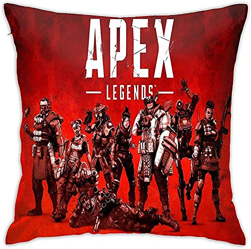 Ap-ex Lege-NDS Pillow Covers,Anime Washable Unisex for Home Sofa/Chair Seat Car/Bedroom/Living Room,Cushion Cover,Square Throw Pillowcase,Multiple