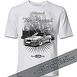 youtex E36 Cabrio, E 36 Cabrio 3er-Serie, M3, Youngtimer Black&White T-Shirt (M)