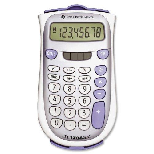 Texas Instruments TI-1706 SV Standard Function Calculator