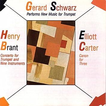 Gerard Schwarz Performs New Music for Trumpet