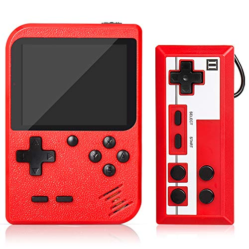 Handheld Game Console, Retro Mini Game Player with 500 Classic FC...