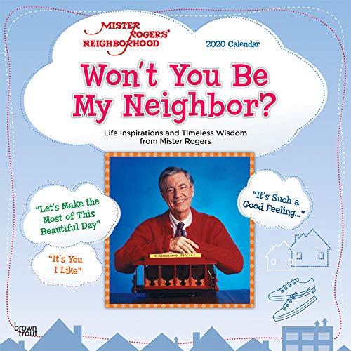 Mister Rogers' Neighborhood 2020 Square Wall Calendar