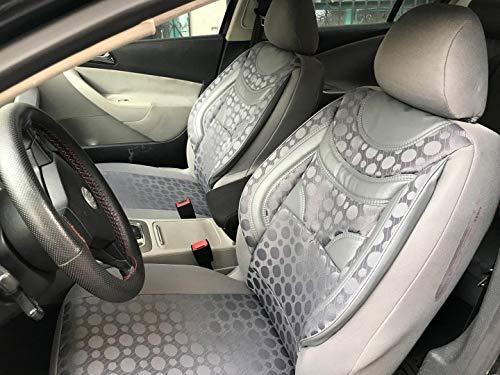 Sitzbezüge k-maniac für Audi A6 C4 Avant | Universal grau | Autositzbezüge Set Komplett | Autozubehör Innenraum | NO1820355 | Kfz Tuning | Sitzbezug | Sitzschoner