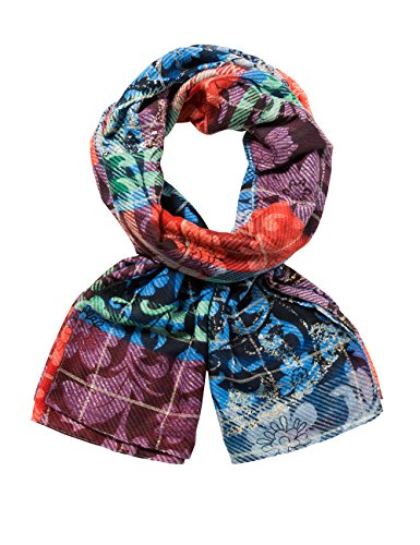 Desigual dames Foulard_TRANSFLORES sjaal, rood (Peach Whip 3147), One Size (Manufacturer Maat: U)
