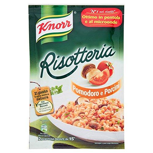 15x Knorr Risotto Pomodoro e Porcini 175g 100% Italienisch Reis mit Tomaten und Steinpilzen Fertiggerichte Reisgerichte
